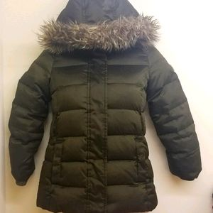 Gap Girls Hooded Down Puffer Parka